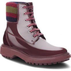 Trapery GEOX - A Asheely B D847AB 000BC C7357 Dk Burgundy. Szare buty zimowe damskie marki Geox, z gumy. W wyprzedaży za 419,00 zł.