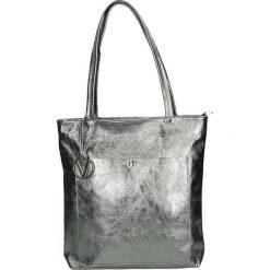 Torba - 115-001-O L A. Szare torebki klasyczne damskie Venezia, ze skóry. Za 249,00 zł.