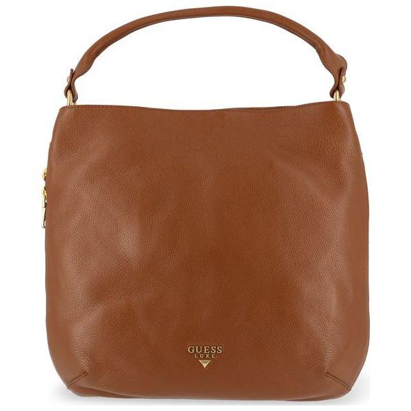 de06641fc4162 Guess Torebka Damska Brązowy - Pomarańczowe torebki klasyczne damskie  Guess