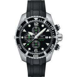 PROMOCJA ZEGAREK CERTINA DS Action C032.427.17.051.00. Czarne zegarki męskie CERTINA, szklane. W wyprzedaży za 4083,20 zł.