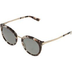 Dolce&Gabbana Okulary przeciwsłoneczne grey. Szare okulary przeciwsłoneczne damskie lenonki marki Dolce&Gabbana. Za 839,00 zł.