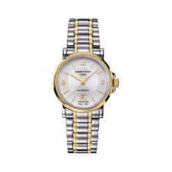 PROMOCJA ZEGAREK CERTINA DS CAIMANO LADY AUTOMATIC. Szare zegarki męskie marki CERTINA, ze stali. W wyprzedaży za 1660,00 zł.