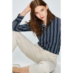 Vero Moda - Koszula Nicky. Szare koszule damskie marki Vero Moda, l, w paski, z poliesteru, casualowe, z klasycznym kołnierzykiem, z długim rękawem. W wyprzedaży za 69,90 zł.