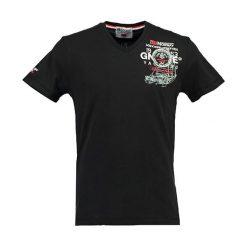 """T-shirty chłopięce z nadrukiem: Koszulka """"Javigation"""" w kolorze czarnym"""