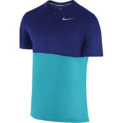 T-shirty męskie: koszulka do biegania męska NIKE RACER SHORT SLEEVE / 644396-418 – NIKE RACER SHORTSLEEVE