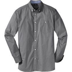 Koszula z długim rękawem bonprix dymny szary. Białe koszule męskie marki bonprix, z klasycznym kołnierzykiem, z długim rękawem. Za 69,99 zł.