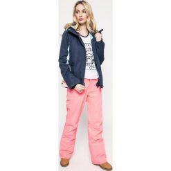 Roxy - Kurtka snowboardowa. Białe kurtki damskie marki Roxy, l, z nadrukiem, z materiału. W wyprzedaży za 539,90 zł.