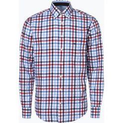 Fynch Hatton - Koszula męska łatwa w prasowaniu, niebieski. Niebieskie koszule męskie non-iron Fynch-Hatton, l, z dekoltem karo. Za 249,95 zł.
