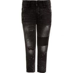 Spodnie męskie: Next PAINT SPLAT PATCH  Jeans Skinny Fit black