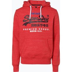 Superdry - Męska bluza nierozpinana, czerwony. Szare bluzy męskie z nadrukiem marki Superdry, l, z tkaniny, z okrągłym kołnierzem, na ramiączkach. Za 349,95 zł.