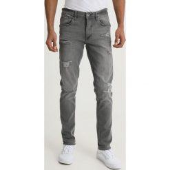 Blend JET Jeansy Slim Fit denim grey. Brązowe jeansy męskie marki Blend, l, z bawełny, bez kaptura. Za 209,00 zł.