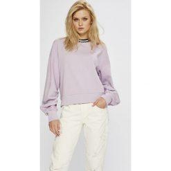 Lee - Bluza. Szare bluzy damskie Lee, l, z bawełny, bez kaptura. Za 219,90 zł.