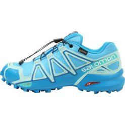 Salomon SPEEDCROSS 4 GTX Obuwie do biegania Szlak aquarius/beach glass/hawaiian surf. Niebieskie buty do biegania damskie Salomon, z materiału, salomon speedcross. Za 699,00 zł.