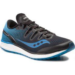 Buty SAUCONY - Freedom Iso S20355-7 Blk/Blu. Czarne buty do biegania męskie Saucony, z materiału. W wyprzedaży za 489,00 zł.
