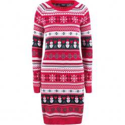Sukienka dzianinowa bonprix czerwony wzorzysty. Czerwone sukienki dzianinowe marki Mohito, l. Za 99,99 zł.