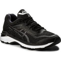 Buty ASICS - GT-2000 6 T855N  Black/White/Carbon 9001. Czarne buty do biegania damskie marki Asics, z materiału. W wyprzedaży za 409,00 zł.