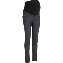 Spodnie ciążowe SKINNY, Power-stretch bonprix czarny. Czarne spodnie ciążowe bonprix. Za 109,99 zł.
