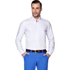 Koszula Fioletowa w Kratę Alvin. Fioletowe koszule męskie na spinki LANCERTO, m, w kratkę, z bawełny. W wyprzedaży za 149,90 zł.
