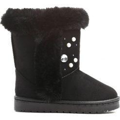 Kozaki dziewczęce: Czarne Śniegowce Calendar