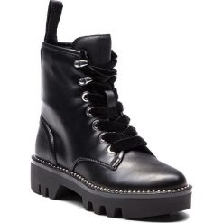 Trapery GUESS - FLDIA4 ELE10 BLACK. Czarne buty zimowe damskie marki Guess, z materiału. Za 629,00 zł.