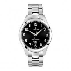 """Zegarek """"4460659"""" w kolorze srebrno-czarnym. Czarne, analogowe zegarki męskie Dugena & Nautec No Limit, ze stali. W wyprzedaży za 449,95 zł."""
