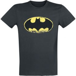 T-shirty męskie: Batman Vintage Logo T-Shirt ciemnoszary