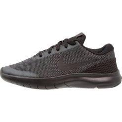 Nike Performance FLEX EXPERIENCE RN 7 Obuwie do biegania startowe black/anthracite. Czarne buty sportowe chłopięce Nike Performance, z materiału. W wyprzedaży za 194,65 zł.