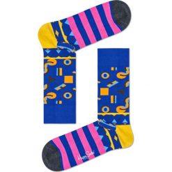 Happy Socks - Skarpetki Mix Max. Niebieskie skarpetki damskie Happy Socks, z bawełny. Za 39,90 zł.