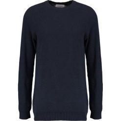 Swetry klasyczne męskie: Lindbergh Sweter navy
