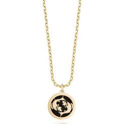 PROMOCJA Wisiorek Złoty - złoto żółte 585, Onyks. Żółte łańcuszki męskie W.KRUK, złote. W wyprzedaży za 249,00 zł.