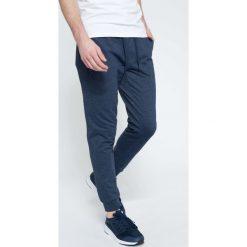 Spodnie dresowe męskie: Spodnie dresowe męskie SPMD300 – denim melanż