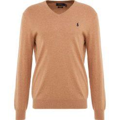 Polo Ralph Lauren Sweter brown heather. Brązowe swetry klasyczne męskie Polo Ralph Lauren, m, z bawełny, polo. Za 629,00 zł.