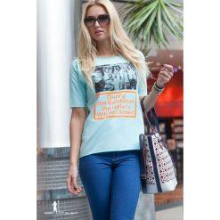 T-shirt. Szare t-shirty damskie Fasardi. Za 11,00 zł.