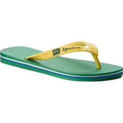 Japonki IPANEMA - Clas Brasil II Ad 80415 Green/Yellow 23183. Żółte chodaki męskie Ipanema, z tworzywa sztucznego. Za 64,99 zł.