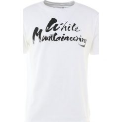 T-shirty męskie z nadrukiem: White Mountaineering PRNTED TSHIRT WHITE MOUNTAINEE Tshirt z nadrukiem white
