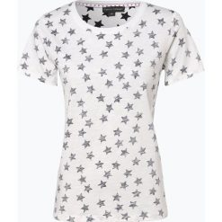 Franco Callegari - T-shirt damski, beżowy. Zielone t-shirty damskie marki Franco Callegari, z napisami. Za 59,95 zł.