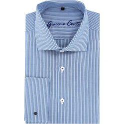 Koszula RICCARDO 15-11-23. Szare koszule męskie marki S.Oliver, l, z bawełny, z włoskim kołnierzykiem, z długim rękawem. Za 199,00 zł.