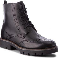 Trapery CAPRICE - 9-25209-21 Black Nappa 022. Czarne buty zimowe damskie Caprice, z materiału. W wyprzedaży za 269,00 zł.