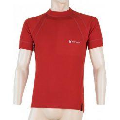 Odzież termoaktywna męska: Sensor  Double Face T-Shirt Męski Czerwony M
