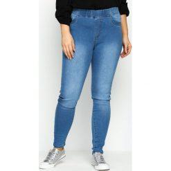 Spodnie damskie: Niebieskie Jegginsy Shake Down