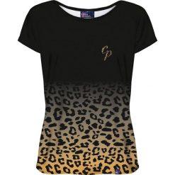 Colour Pleasure Koszulka damska CP-034 260 czarno-żółta r. XS/S. Fioletowe bluzki damskie marki Colour pleasure, uniwersalny. Za 70,35 zł.