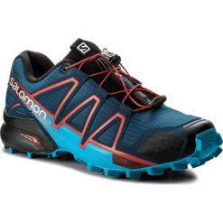 Buty sportowe męskie: Buty SALOMON – Speedcross 4 400797 27 V0 Poseidon/Hawaiian Surf/Fiery Red