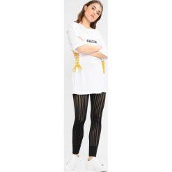Ivy Park FOOTBALL LACE UP Tshirt z nadrukiem white. Czarne topy sportowe damskie marki Strategia. Za 249,00 zł.