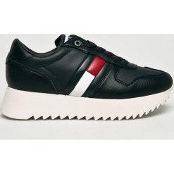 Tommy Jeans - Buty. Szare buty sportowe damskie Tommy Jeans, z jeansu. Za 449,90 zł.