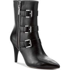 Botki MICHAEL KORS - Lori Bootie 40F7LRHE5L Black. Czarne buty zimowe damskie Michael Kors, z materiału, na obcasie. W wyprzedaży za 659,00 zł.