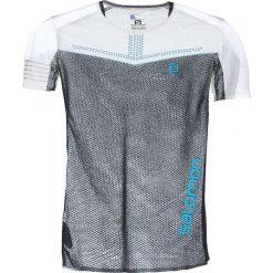 Salomon S/LAB SENSE Tshirt z nadrukiem white/black. Białe koszulki polo Salomon, m, z nadrukiem, z bawełny. W wyprzedaży za 343,20 zł.