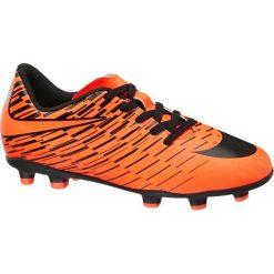 Buty męskie piłkarskie Nike Bravata II NIKE pomarańczowe. Czarne buty skate męskie marki Nike, z materiału, nike tanjun. Za 104,00 zł.