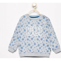 Wzorzysta bluza - Jasny szar. Szare bluzy chłopięce marki Reserved. Za 29,99 zł.
