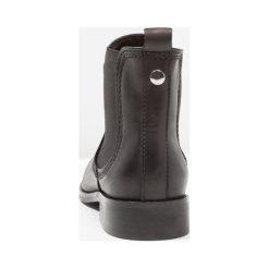 KIOMI Ankle boot black. Niebieskie botki damskie skórzane marki KIOMI. Za 459,00 zł.