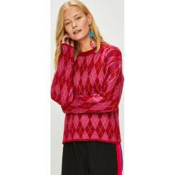Trendyol - Sweter. Szare swetry klasyczne damskie marki Vila, l, z bawełny, z okrągłym kołnierzem. Za 89,90 zł.